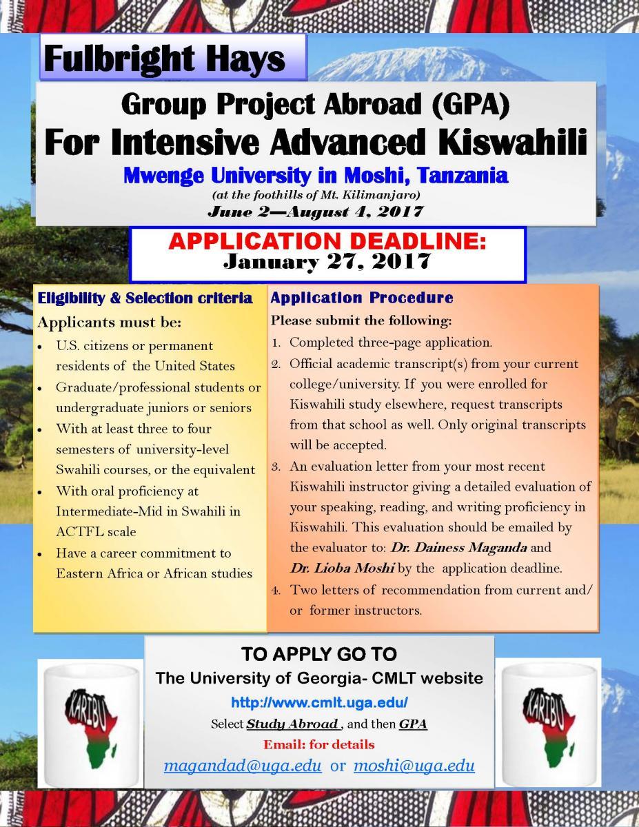Uga application deadline spring 2014